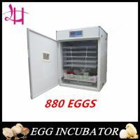 Electric heated constant temperature incubator 880 eggs incubator  LH-7