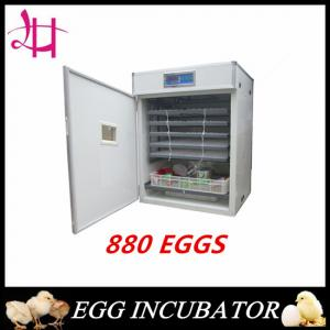 China Wooden packed fully automatic Egg Incubator for sale 880eggs incubator on sale