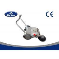 Electric Industrial Manual Push Vacuum Floor Sweeper For Coarse Road Walk Behind
