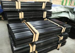 Black Painted Y Fence Post / Metal Fence Posts For Australia