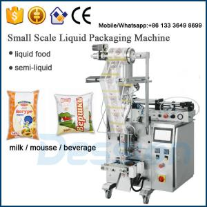 China Auto Vertical milk / mousse / beverage Packaging Machine on sale