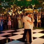 wedding venue Wood Parquet Dance Floor for anniversaries