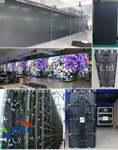 China indoor Stage rental LED display 500*500  500*1000 P3.91 P4.81 P5.95 P6.25 P6.94 P8.928 on sale