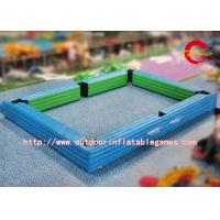 China Champ gonflable de billard de jeux de plein air de parc d'attractions de PVC pour le jeu de Snookball 7 * 5m on sale