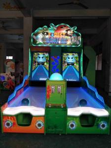 China Parents / Kids Bowling Redemption Arcade Machines Wooden Plastic Material on sale
