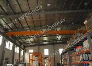 China LDX1t-12m Single Girder Overhead Cranes for machinery works/ Workshop / Warehouse / Station on sale