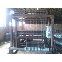 Hinge Joint Knot Weaving Field Fence Machine , Anti Corrosive Cattle Fence Machine