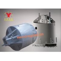 China Rotary Drill Carbide Trencher Teeth Abrasion Proof Core Barrel With Three Wing on sale