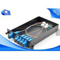 Optical Fiber Couplers For Communication , 1 X 4 Fiber Optic PLC Splitter