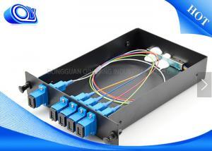 China Optical Fiber Couplers For Communication , 1 X 4 Fiber Optic PLC Splitter on sale