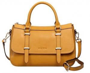 China factory price lady's hand bags in genuine leather on sale