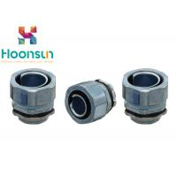 DPJ100 Flexible Conduit Connector Metal Hose End Style Straight Joint Connector IP65