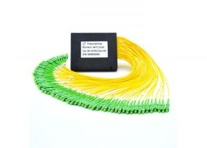 China Small Size Optical Cable Splitter , High Reliability Fiber Optic Splitter  For FTTH on sale