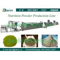 Twin screw extruding nutrition powder Food Extruder Machine 200-250kg/h
