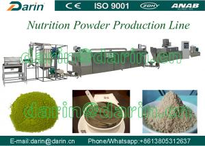 China Twin screw extruding nutrition powder Food Extruder Machine 200-250kg/h on sale