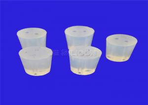 China No Odor Moulded Rubber Parts Colorfast , Transparent Silicone Rubber Plugs on sale