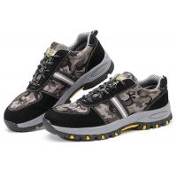 Customized Lightweight Industrial Safety Shoes , Anti Alkali Casual Safety Shoes
