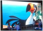 La exhibición al aire libre video de la publicidad de la animación LED, P3 1R1G1B interior HD lleno LED sube