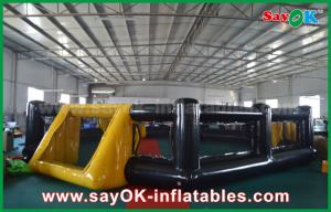 China PVC Seal Inflatable Soccer Field Kids Indoor / Outdoor Playground Equipment on sale