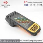 Mini Portable Bluetooth Printers PDA Thermal Printer With Mobile Bar Code Scanner