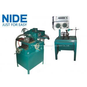 China Semi Automation Armature Motor Rotor Balancing Machine / Balancer Machine and weight removing machine on sale