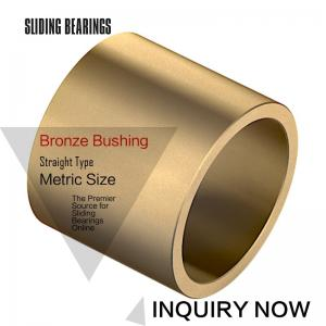 China Oil Grooved in Cast Bronze Bearings & Spiral Sleeve Bushings By Size on sale