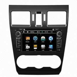 China 7 Inch IPOD In Dash Car DVD Player Bluetooth GPS Navigation for Subaru XV 2013 on sale