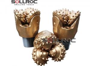 China IADC API Carbide Tungsten Tricone Rock Roller Bits For Oil Drilling on sale