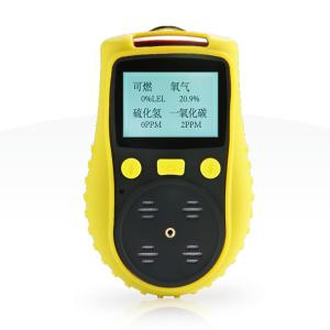 China Handheld H2S Gas Detector , Explosion Proof Sulfide Gas Detector 2300Mah Battery on sale