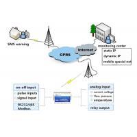 Fire Alarm Sms Wireless GSM GPRS RTU Smoke Detector System , Alarm Forest Monitoring
