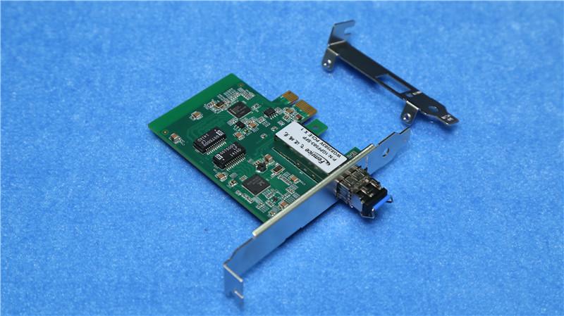 Femrice 1000Mbps PCIex1 SFP Slot Network Interface Card Intel 82583V