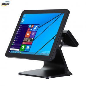 China 15 Inch Restaurant Equipment POS Cash Register Intel Celeron J1800 Dual Core 2.45 GHz CPU on sale