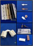 PVC shutters components / Wooden shutters hardwares