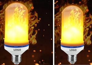 China E27 E26 SMD LED Flame Electric Fire Light Bulbs Flickering Emulation Lamp on sale