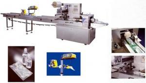 China Étiquetage automatique automatique de machine de conditionnement de sac intraveineux en plastique on sale