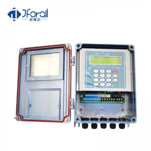 China Digital Ultrasonic Flow Meter With Touch Keyboard For Industrial Water Fuel Oil Gas on sale