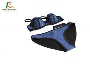 China Fashion Custom Printed Clothing Water Repellent Womens Bikini Swimwear on sale