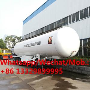 China hot sale CLW New lpg transport trailer / new lpg transport truck tanks/lpg transport tank semi trailer for sale on sale