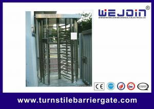 China 304 / 201 Stainless Steel Smart Card Access Control Turnstile Gate on sale