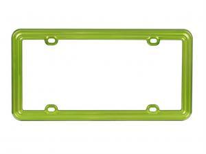 China universal chrome plating Snake modelling LED light car license plate frame on sale