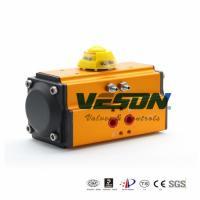Durable Pneumatic Rotary Valve Actuator / Rack And Pinion Valve Actuator0.25 -0.8 Mpa