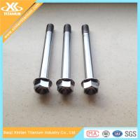 China Metric Titanium Hex Flange Bolts From China Manufacturer on sale