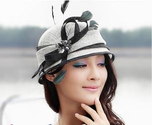 2015 Vintage Cute Lady Sinamay Hats Sinama Hat Sinamy Hat for sale ... e372c7490f10