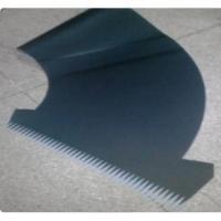 Polyurethane PU endless conveyor belt finger punching