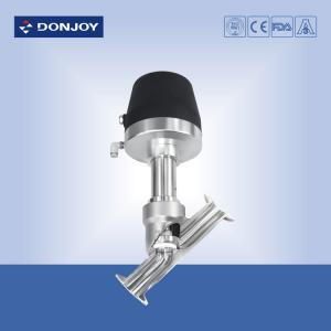 China Donjoy 2\ Steam Angle Seat Valve DC 24V Built In Solenoid Valve on sale
