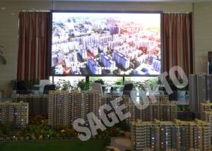 China Indoor LED Advertising Billboard High Defination Super Slim Large LED Screen on sale