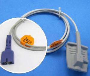 China Adult Silicone Soft Finger Clip Nellcor Spo2 Sensor Compatible Nellcor Oximax DS-100A on sale