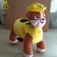 China Hansel  kids rider coin electric unicorn mall ride on toys  coin operated pony toy rides for kids on sale