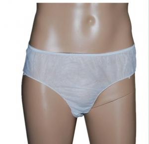 China Lightweight Disposable SPA Products Men'S Disposable Briefs / Short Pants on sale
