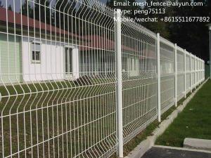 China Best selling galvanized and powder coated welded mesh fencing on sale